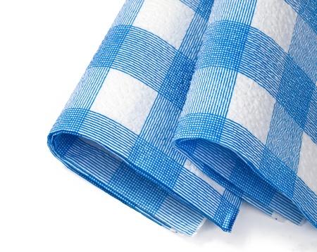 Close-up of kitchen paper napkins photo