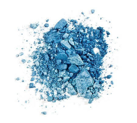 crushed eyeshadow isolated on white background Stock Photo - 19017152