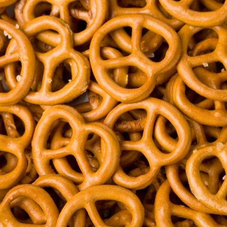 pretzels: Closeup of Pretzels Fills the Frame
