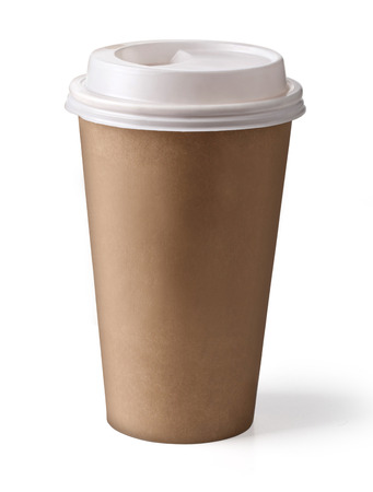 to go cup: Take-out coffee in thermo cup