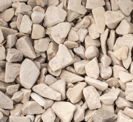 background of small construction stones photo