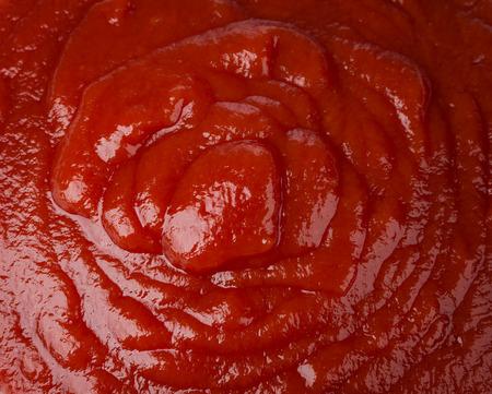 tomato catsup: Macro image of ketchup