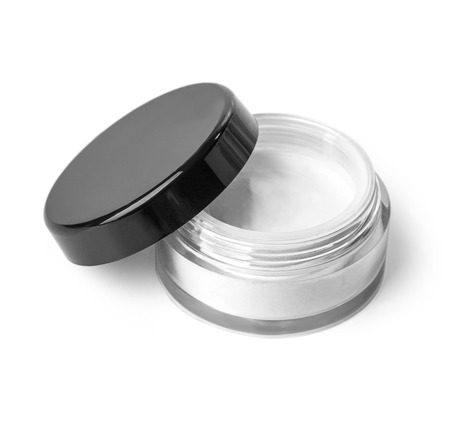 glass containers: Blank Cosmetic Container for Cream, Powder or Gel.