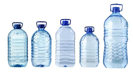water bottles: big plastic water bottle isolated on white background Stock Photo