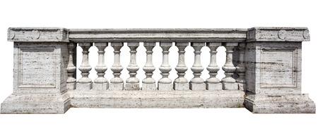 Close Up of Stone Weiß Baluster withclipping Pfad Standard-Bild - 42908626
