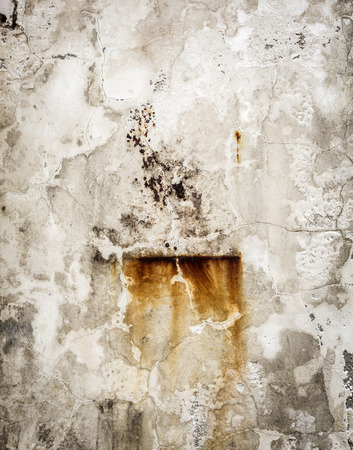 abstract black: Old damaged grunge wall background or texture Stock Photo