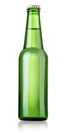 beer bottle: Bottle of beer on white background. File contains clipping paths.