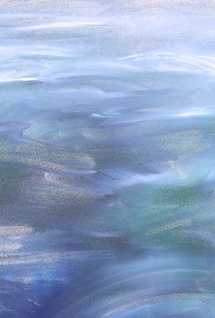 azul turqueza: fondo abstracto pintado en colores azules