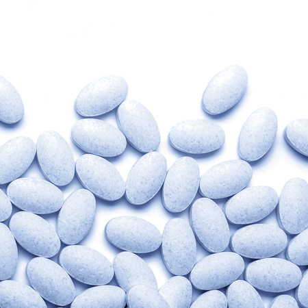pills and tablets on a background