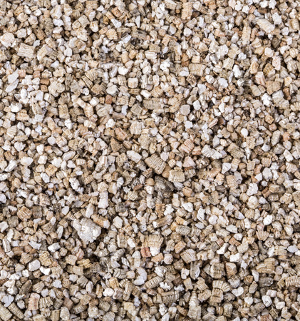 potting: Vermiculite used in potting plants background