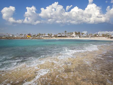 seaview: Nissi beach on Cyprus island Ayia Napa