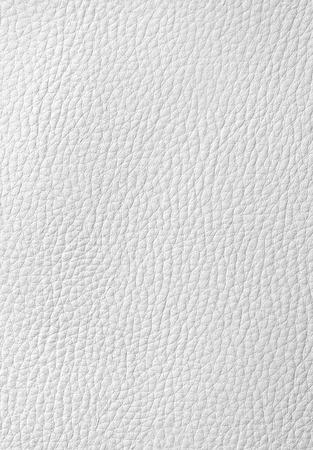 Cuir blanc de fond ou de texture pour votre conception