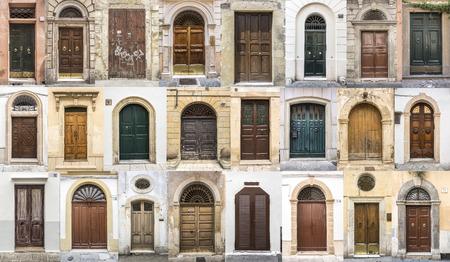 photos de portes des vieux quartiers de l'Europe