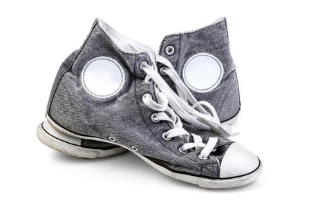 Shoe, Sports Shoe, Canvas Shoe. isolated on white