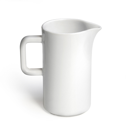 milk jug or water on  white background isolated included