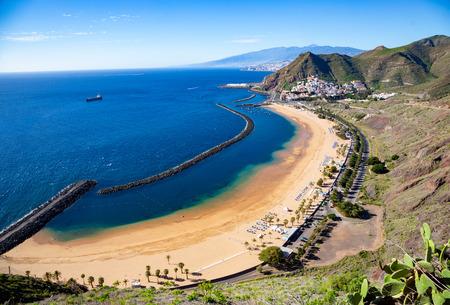 View of Las Teresitas Beach, Tenerife, Spain