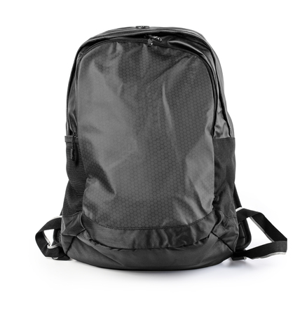 backpack isolated on white background  with clipping path