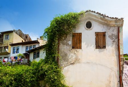 Old stone house in Veliko Tirnovo, Bulgaria Stock Photo