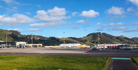 Tenerife, Spain - January 11, 2019: Tenerife North airport in the morning Editorial