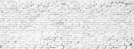 white brick wall texture grunge background