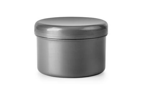jar of cream isolated on white Stock fotó