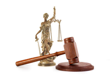 hammer or gavel, symbol photo of authority and decision-making