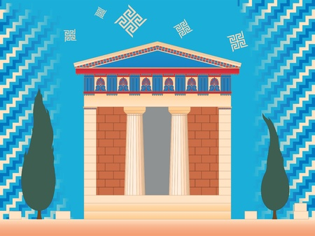 Greek ancient treasury