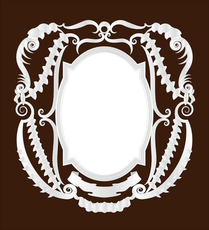 Empty pirate frame Stock Vector - 9718080