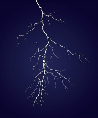 Vector lightning Stock Vector - 9718081