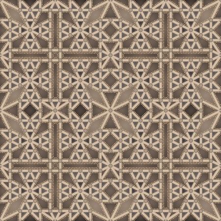 Techo gótico (patrón transparente) Ilustración de vector