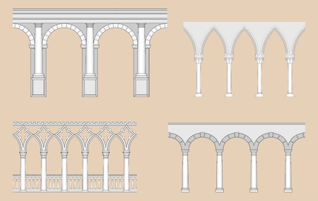 Speelhallen (Romaanse, Gotische, Venetiaanse, Renaissance)
