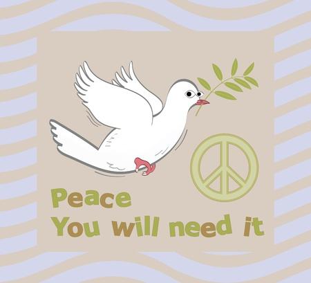 Peace symbol Stock Vector - 11328589