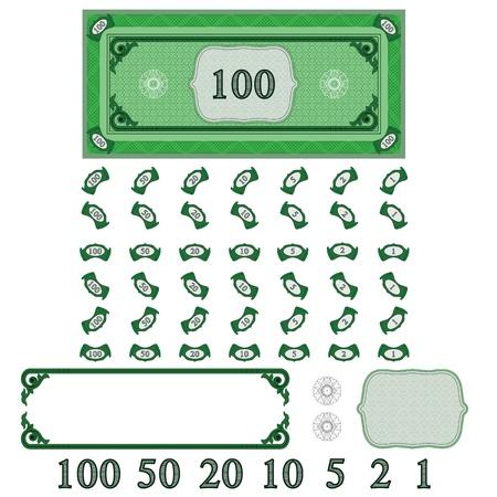 letra de cambio: Jugar dinero (que su conjunto el dinero) Vectores