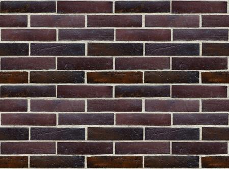precise: Wall of glazed bricks - precise seamless background