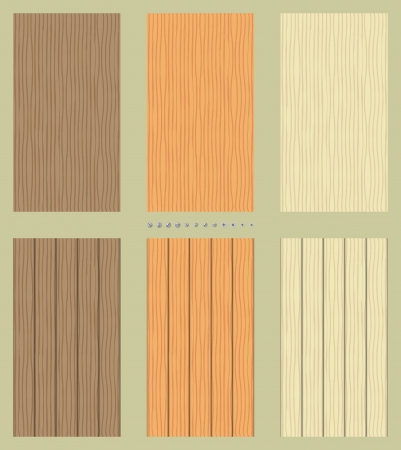 Seamless wooden backgrounds Stock Vector - 14388616