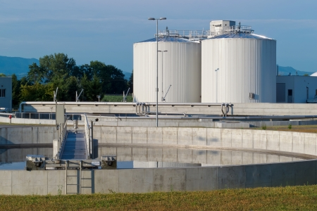 Sewage treatment plant Redactioneel
