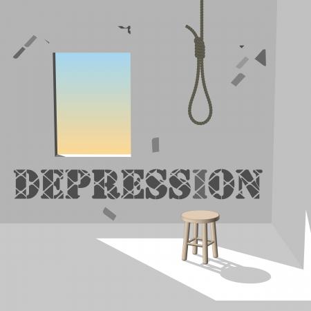 Depression Stock Vector - 17390484