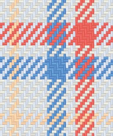 Tartan seamless pattern Stock Illustratie