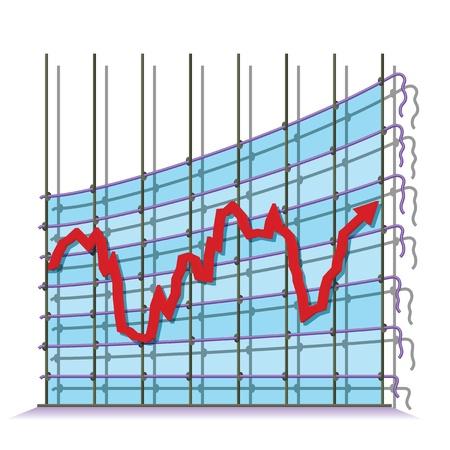 Misrepresented economy Stock Vector - 18908543