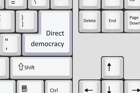 Direct democracy Stock Vector - 19277688