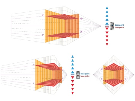 perspective grid: Perspective grid for vector artists  locked layers