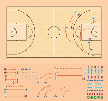 Basketball Coaching Bord
