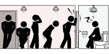 Constipation, rétention d'urine et autres difficultés aux toilettes