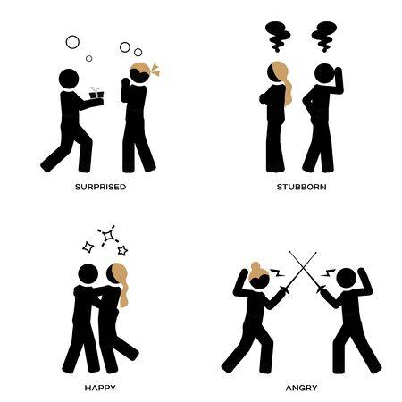 Depiction of good or bad relationships