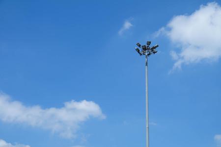 spotlight: spotlight wish blue sky clouds