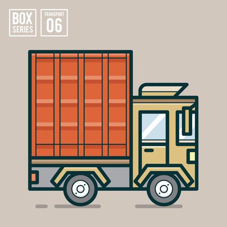 publication: transport illustration for website, publication, info graphic, etc. Illustration
