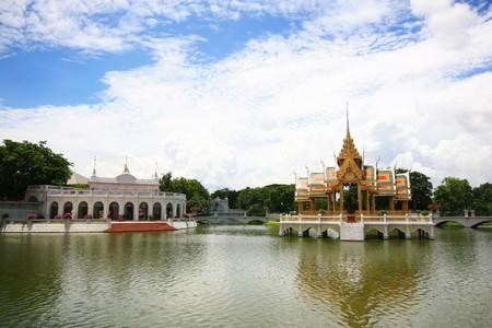 Bang Pa In Royal Palace at Thailand Stock Photo - 8111727