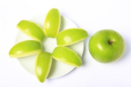 Green Apple freshness is Fruit skin health