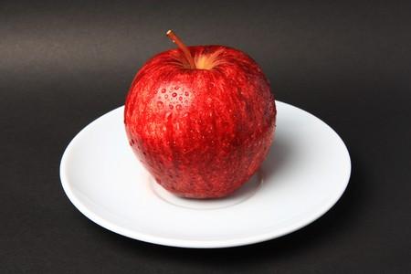 Red Apple freshness is Fruit skin health
