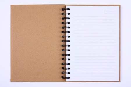 recycle notebook for environment and the earth, First Page photo